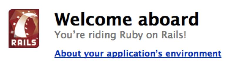 Ruby on Rails First App